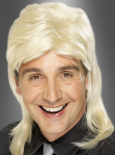 Dieter Perücke Vokuhila blond