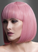 Bobfrisur Elise deluxe Perücke rosa