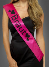 Sash Braut pink for Hen Night