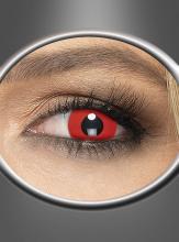 Rote Kontaktlinsen Tageslinsen Teufel