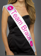 Sash Team Braut for Hen Night