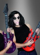 Luftgitarre für Rocker