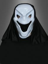 Halloween Maske lachender Geist
