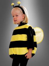 Plüsch Bienenkostüm für Kinder deluxe