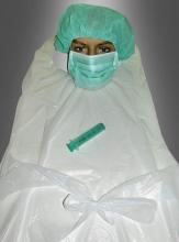 Chirurg OP Schürze Set