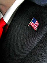 USA Flaggen Pin zum Anstecken