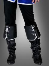 Stiefelüberzieher Musketier zum Kostüm
