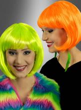 Foxy Fluo Neon Wig