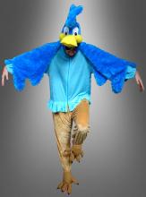 Blauer Rennvogel Kostüm