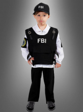 FBI Agent Children Costume