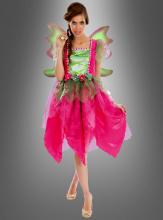 Fee Kostum Fur Damen In Pink Und Grun