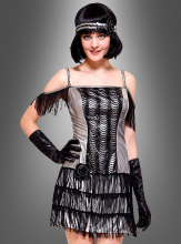 Flapper Costume silver