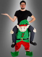 Carry Me Piggyback Elf Costume