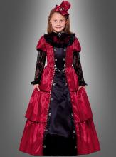 Viktorianische Vampirin Kinderkostüm