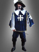 Musketeer costume dark blue