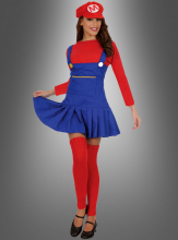 Super Mario Lady Costume