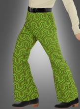 Retro Trousers Men green