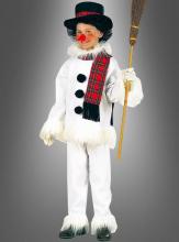 Schneemannkostüm für Kinder