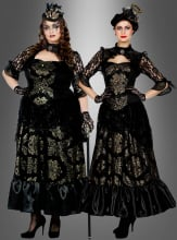 Luxury Gothic Dress black