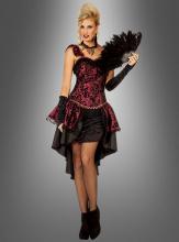 Burlesque Kleid rot