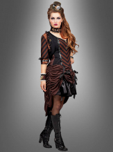 Steampunk Dress with Bolero Jacket