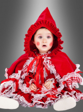 Deluxe Little Red Riding Hood Baby Costume