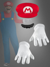Super Mario Accessory Kit Adult