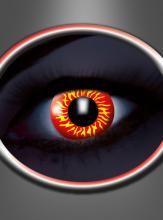 Werwolf UV Motivlinsen rot-gelb