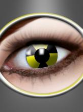 Gelbe Motivlinsen Radioaktiv