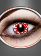 Contact Lenses Bloodshot white-red