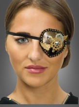 Steampunk Eye Patch Wings