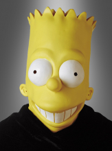 Bart Simpson vinyl adult mask