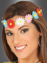Headband with Flowers