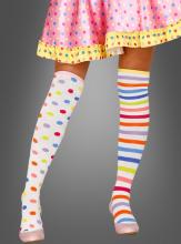 Handschuhe Fleece Thermo Fingerhandschuhe Karneval Clown Alaaf 56545