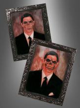 Holografisches Bild Skelett