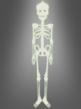 Halloween Skeleton glowing 75 cm