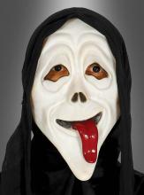 Halloween Maske mit Zunge