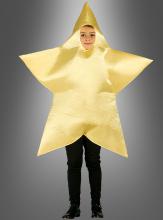 Goldener Stern Kinderkostüm