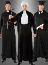 3-in-1 Costume Judge Priest Graduate