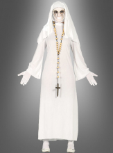 Evil white Nun Costume