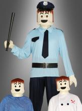 Spielfiguren Set Maske + Hände