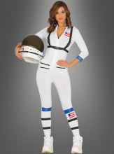 Astronautin Damenkostüm