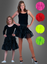 Tüllrock für Mädchen in tollen Farben