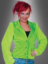 Plush Jacket green