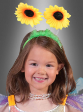 Headband with Sunflowers