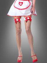 Sexy Krankenschwester Netzstrümpfe