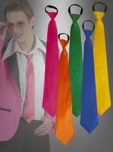 Krawatten in verschiedenen Farben