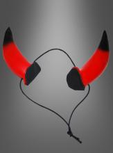 Teufelshörner mit Gummizug
