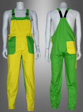 Falp Trousers Adult yellow-green
