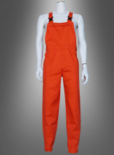 Bib Overall for Adults orange